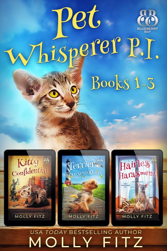 Pet Whisperer P.I. Books 1-3 Special Boxed Edition