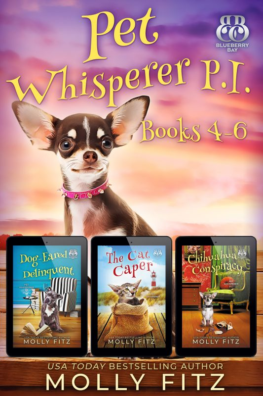 Pet Whisperer P.I. Books 4-6 Special Boxed Edition