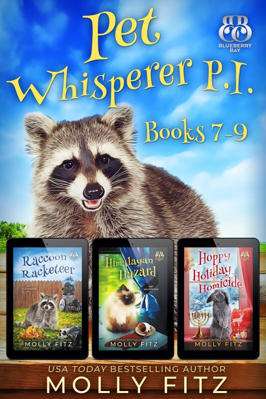 Pet Whisperer P.I. Books 7-9 Special Boxed Edition