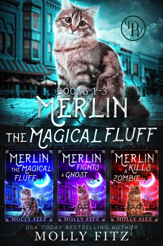 Merlin the Magical Fluff: Full Trilogy Edition